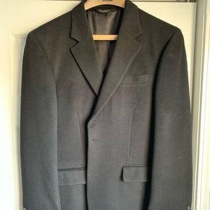 Brushed wool sport coat